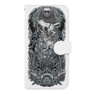 TAROT - THE MOON. White Book-style smartphone case