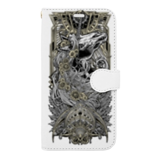 TAROT - THE SUN. White Book-style smartphone case