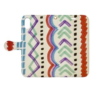 makamaka Book-style smartphone case