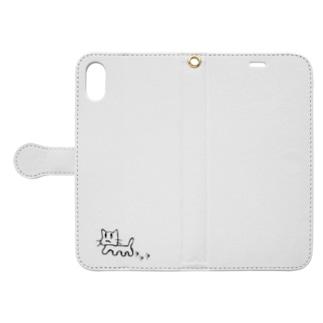 さんぽねこ Book-style smartphone case