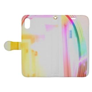 ミラクルマジックミラー M.M.M Book-style smartphone case