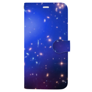 2step_by_Jrの宇宙の藻屑 Book-style smartphone case