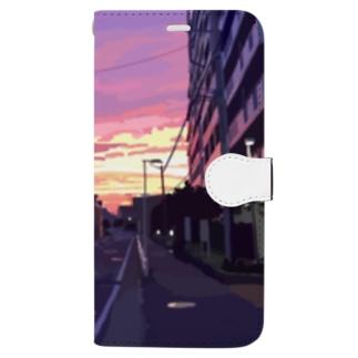 「夜がくる前に」  Book-style smartphone case