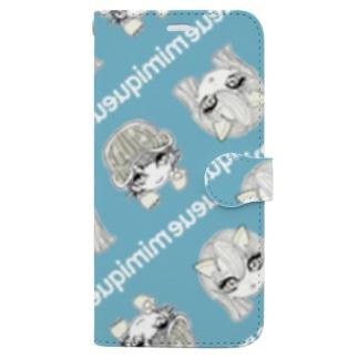 339/usuasagi Book-style smartphone case