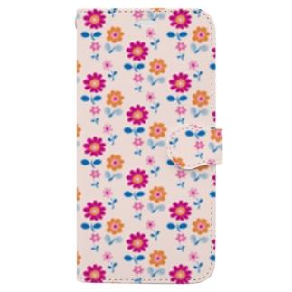 やさしい花 Book-style smartphone case