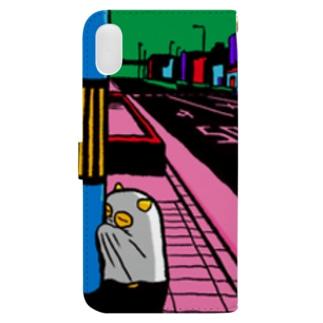もうどくと夜 Book-style smartphone case