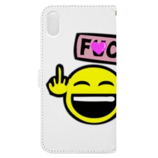 F●CK YOU Book-style smartphone case