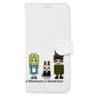 CUBE アリス ver.2 Book-style smartphone case