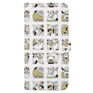 DOGS Book-style smartphone case