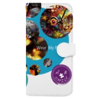 ca37_瀑_justice Book-style smartphone case