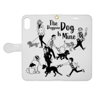 The Doggone Dog Is Mine  Boys Book-style smartphone case