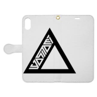 yositomi logo Book-style smartphone case