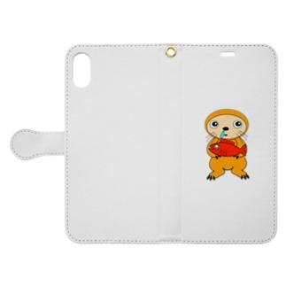 カナメリアン君 Book-style smartphone case
