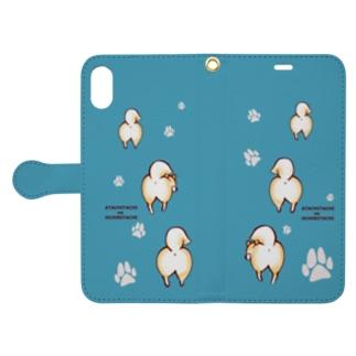 おちりシリーズ Book-style smartphone case