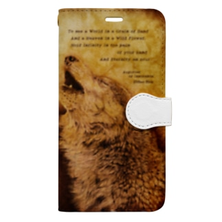 Howling Wolf 2 Book-style smartphone case