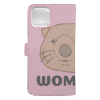 WOMBAT🌸PINK   #ウォンバットグッズ Book-style smartphone case