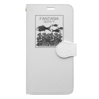FANTASIA~ひまわり~  Book-style smartphone case