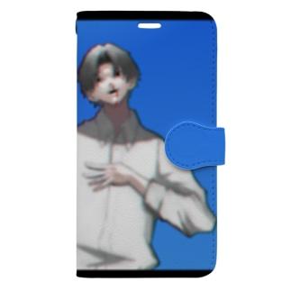 なつ Book-style smartphone case