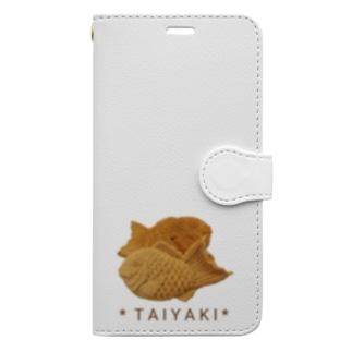 鯛焼き(写真) Book-style smartphone case