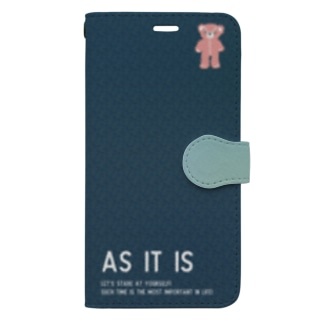 【As it is】(pink)iPhone 11ProMax/12ProMax Book-style smartphone case
