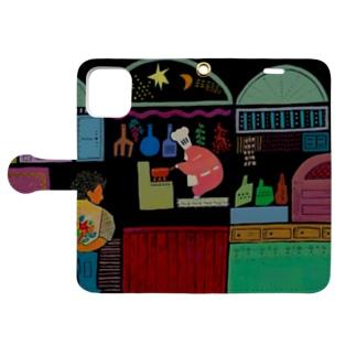 チョコゴリラさんチョコレートの調合 Book-style smartphone case