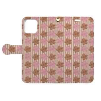 🌼e_emi🌼smile flower🌼~BG~ Book-style smartphone case