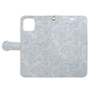 泡沫 Book-style smartphone case