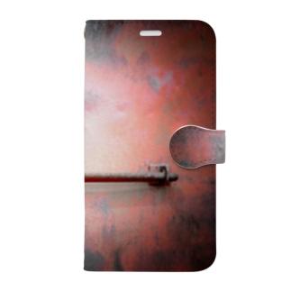 錠前 Book-style smartphone case