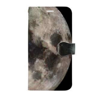 """the MOON / 愛と幸運の星"" Book-style smartphone case"