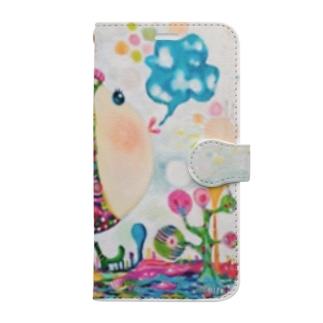 Pezちゃん手帳型 Book-style smartphone case
