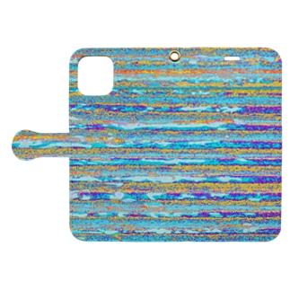 Flexible stripe 10 Book-style smartphone case