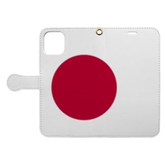 hinomaru Book-style smartphone case