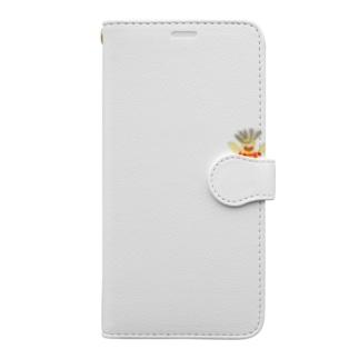 ひっぱりくん Book-style smartphone case