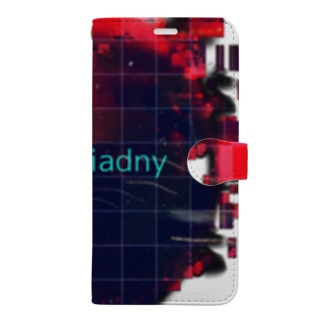 D'Gaiadny red Book-style smartphone case