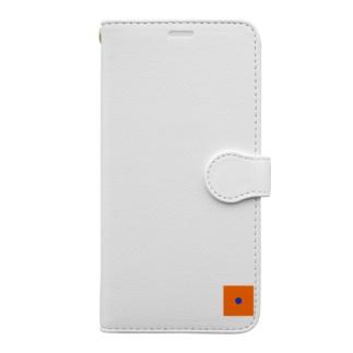 オレンジドット Book-Style Smartphone Case