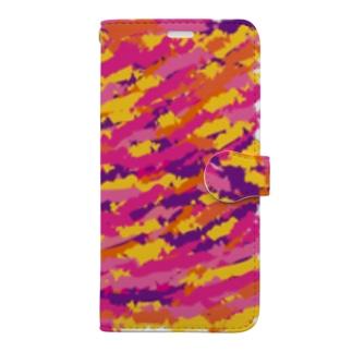 柄 Book-style smartphone case