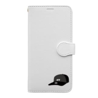 おはなちゃん@レビューテのおしゃれ屋さんのスマホケース(キャップ) Book-style smartphone case