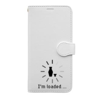 ねこやなぎ屋のおもしろ英語表現(loaded) Book-style smartphone case