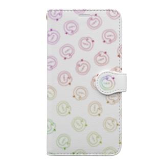 ゲーミングうろぼろすパターン Book-style smartphone case