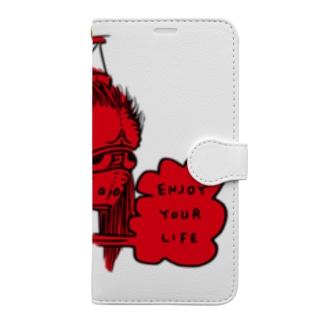 Japan Traditional Ghost Book-style smartphone case