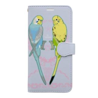 セキセイスマホカバー11用 Book-style smartphone case