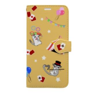 フクモモサーカス団 Book-style smartphone case