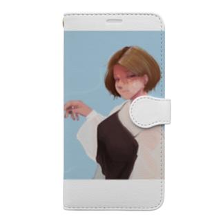 タバコ Book-style smartphone case