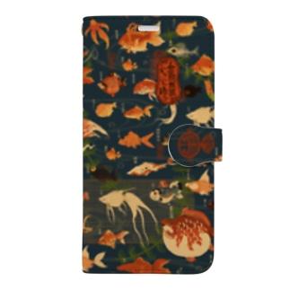 金魚妖怪 Book-style smartphone case