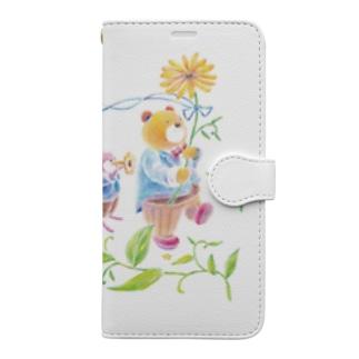 行進 Book-style smartphone case