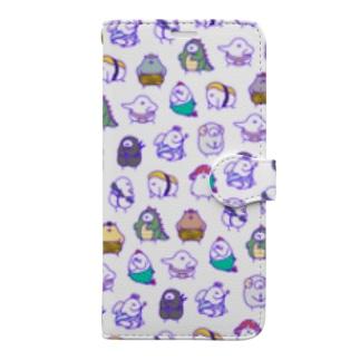 チン盛り合わせ Book-style smartphone case