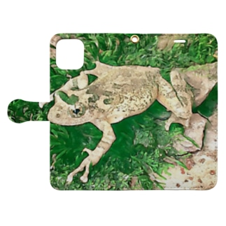 Fantastic Frog -Evergreen Version- Book-style smartphone case