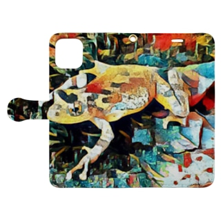 Fantastic Frog -Plein Air Version- Book-style smartphone case