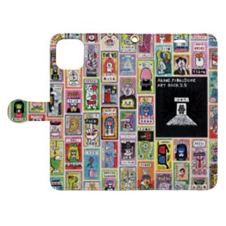 ドロウイングレシート Book-style smartphone case
