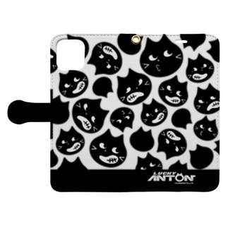 Lucky Anton フェイス Book-style smartphone case